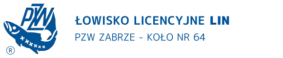 Lin - łowisko sekcyjne Zabrze - logo